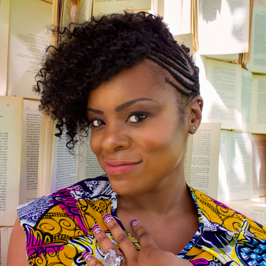 Nana Nkweti, Author of Walking on Cowrie Shells, on Fierce Womxn Writing Podcast